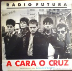 Discos de vinilo: RADIO FUTURA, 37 GRADOS - A CARA O CRUZ MAXI-SINGLE PROMOCIONAL. Lote 42743211