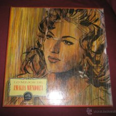 Discos de vinilo: ALBÚM-3 LPS-VINILO-MÉXICO-AMALIA MENDOZA-1964-RCA-MKLA 47-48 TEMAS-.. Lote 42745431