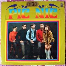 Discos de vinilo: PICNIC - LP - ORIGINAL HISPAVOX 1968 - EXCELENTE ESTADO. Lote 200591300