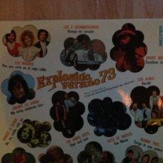 Discos de vinilo: EXPLOSIÓN VERANO 73 - LP BELTER 1973. Lote 42751014