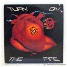 Discos de vinilo: SYE - 'TURN ON THE FIRE' (LP VINILO. LETRAS EN EL INTERIOR. ORIGINAL EEUU). Lote 42751226