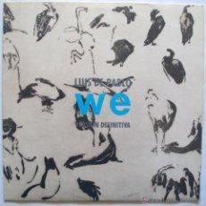 Discos de vinilo: LUIS DE PABLO - WE (VERSION DEFINITIVA) (LP 1985) . Lote 42754213