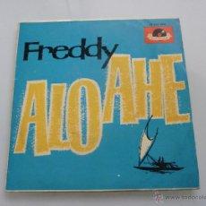 Discos de vinilo: FREDDY - ALO - AHE + 3 EP 1962. Lote 42758398