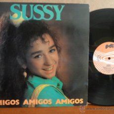 Discos de vinilo: SUSSY. AMIGOS. LP / PDI - 1986. BUENA CALIDAD. ***/***. Lote 42759441