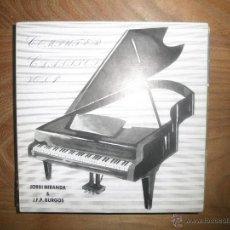 Discos de vinilo: JORDI MIRANDA Y J.F.P. BURGOS. COMPUTER CLASICS VOL. 1. MARCHA TURCA. PRIMATIC 1987. IMPECABLE. Lote 42761122