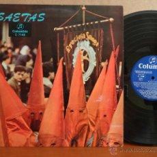 Discos de vinilo: SAETAS. VARIOS ARTISTAS ( LEER ) LP / COLUMBIA - 1963. MUY BUENA CALIDAD. ***/***. Lote 42763030