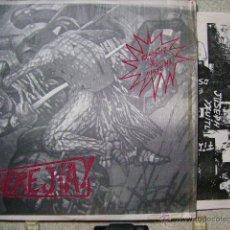 Discos de vinilo: HEREJIA...RESISTIR AL SISTEMA....MEXICO HARDCORE-PUNK. Lote 42763762