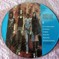 Discos de vinil: BARRICADA - POR INSTINTO - PICTURE DISC - 1991. Lote 42764540