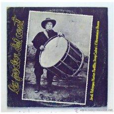 Discos de vinilo: JORDI FABREGAS, XAVIER BATLLÉS, JOSEP CABRÉ I L'HARMÓNICA BARNA - 'LO PODER DEL CANT' (LP VINILO). Lote 42769094