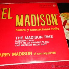 Discos de vinilo: HARRY MADISON SQUARTETT THE MADISON TIME/MADISON TWIST +2 EP 1962 RCA VICTOR ESPAÑA SPAIN. Lote 42770553