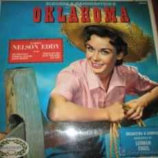 Discos de vinilo: LP-VINILO-OKLAHOMA-RODGER´S & HAMMERRSTEIN´S-1967-BANDA SONORA-HM505-10 TEMAS-.. Lote 42777269
