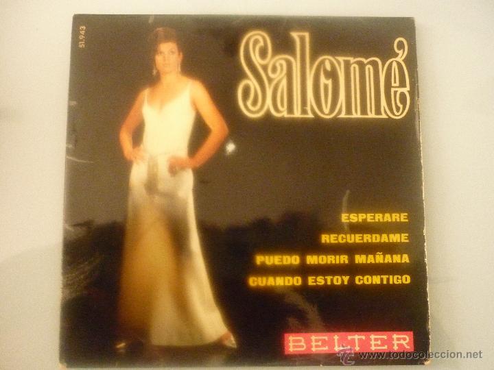 SALOMÉ (Música - Discos - Singles Vinilo - Solistas Españoles de los 70 a la actualidad)