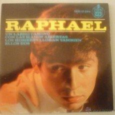 Discos de vinilo: RAPHAEL HISPAVOX. Lote 42781188