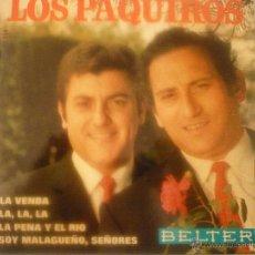 Discos de vinilo: LOS PAQUIROS. Lote 42781494