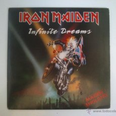 Discos de vinilo: IRON MAIDEN - INFINITE DREAMS. Lote 42787881