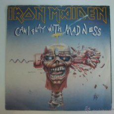 Discos de vinilo: IRON MAIDEN - CAN I PLAY WITH MADNESS. Lote 42788094