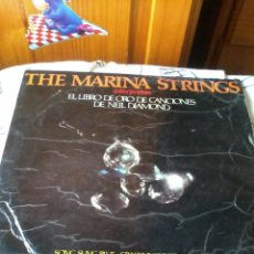 Discos de vinilo: THE MARINA STRINGS INTERPRETAN EL LIBRO DE ORO DE CANCIONES DE NEIL DIAMOND. C2V. Lote 42788160