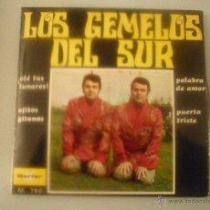 Discos de vinilo: LOS GEMELOS DEL SUR. Lote 42788825