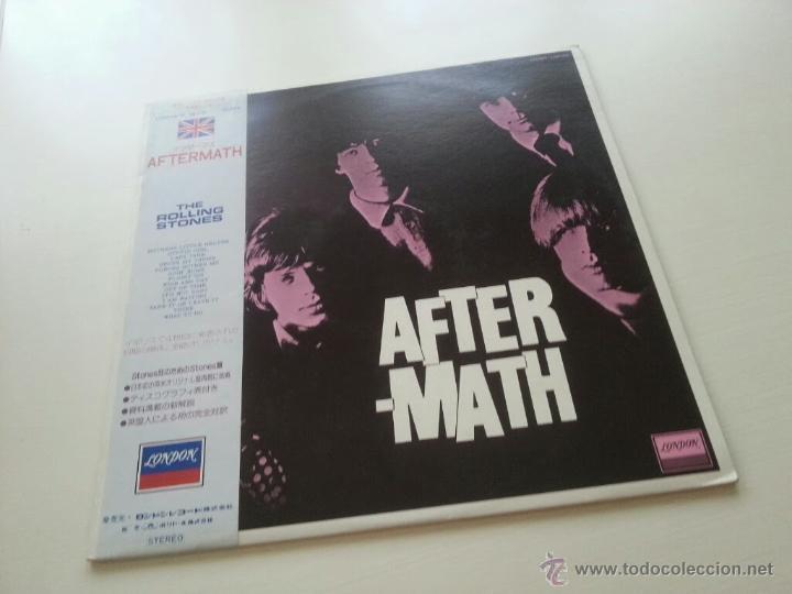 THE ROLLING STONES - AFTER MATH - CON SONIDO AUDIÓFILO JAPAN LP + OBI - VINILOVINTAGE (Música - Discos - LP Vinilo - Pop - Rock Internacional de los 50 y 60)