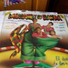 Discos de vinilo: MONAMO Y SU BANDA. EL DISCO DE LOS NIÑOS. C1V. Lote 42791853