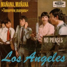 "Discos de vinilo: LOS ANGELES - SINGLE VINILO 7"" - EDITADO EN ALEMANIA - MAÑANA, MAÑANA + NO PIENSES - VOGUE 1968. Lote 42795769"