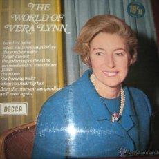 Discos de vinilo: LP-VINILO-THE WORLD OF VERA LYNN-DECCA-1969-12 TEMAS.. Lote 42795858