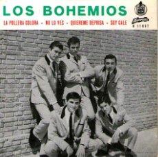 """Discos de vinilo: LOS BOHEMIOS - EP SINGLE VINILO 7"""" - EDITADO EN PORTUGAL - LA POLLERA COLORÁ + 3 - ALVORADA. Lote 42795948"""