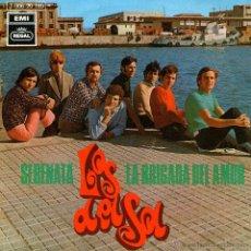 """Discos de vinilo: LOS DEL SOL - SINGLE VINILO 7"""" - EDITADO EN ESPAÑA - SERENATA + LA BRIGADA DEL AMOR - REGAL 1970. Lote 42798542"""