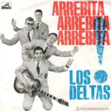 """Discos de vinilo: LOS DELTAS - EP VINILO 7"""" - EDITADO EN PORTUGAL - ARREBITA ARREBITA ARREBITA + 3 - A VOZ DO DONO.. Lote 42798578"""