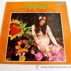 Discos de vinilo: JULIE FELIX / FLOWERS - LP DE EDICIÓN INGLESA U.K. - CONTOUR, 1967. Lote 42812341