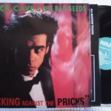 Discos de vinilo: NICK CAVE & THE BAD SEEDS - '' KICKING AGAINST THE PRICKS '' LP ORIGINAL UK. Lote 42813291