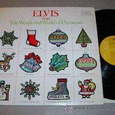 Discos de vinilo: ELVIS PRESLEY / SINGS THE WONDERFUL OF CHRISTMAS 1975 / RARA . EDIT. USA IMPORT !! EXC !!!!. Lote 42813780
