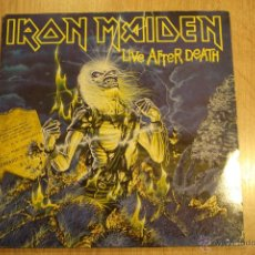 Discos de vinilo: IRON MAIDEN, LIVE AFTER DEATH,EMI,RECORDS,1985,DOBLE LP,EN VIVO,1ª EDICION ESPAÑOLA, GATEFOLD. Lote 42814099