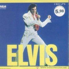 Discos de vinilo: ELVIS PRESLEY / ELVIS 1973 !!! DOBLE LP !! RARA .. ORG CANADA EDIT . !! TODO EXC. Lote 42814158