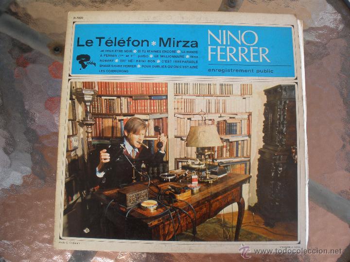NINO FERRER LE TELEFON MIRZA (Música - Discos - LP Vinilo - Canción Francesa e Italiana)