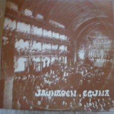 Discos de vinilo: JAUNAREN EGUNA 1977. Lote 42816910