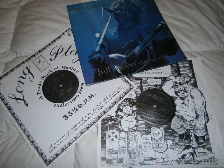THE CURE - FULL MOON CONCERT - 2 VINILOS. MUY RARO (Música - Discos - Singles Vinilo - Pop - Rock Extranjero de los 90 a la actualidad)