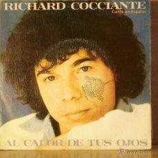 Discos de vinilo: RICHARD COCCIANTE - AL CALOR DE TUS OJOS / MAGALI - EPIC EPC A-2339 - 1980 - PROMOCIONAL. Lote 42820922