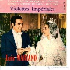 Discos de vinilo: LUIS MARIANO VIOLETTES IMPERIALES. Lote 42823477