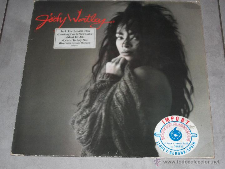 JODY WATLEY - JODY WATLEY - MADE IN GERMANY 1987 - LP (Música - Discos - LP Vinilo - Funk, Soul y Black Music)