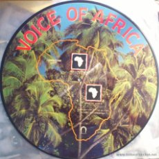 Discos de vinilo: VOICE OF AFRICA, HOOMBA HOOMA PICTURE MAXI SINGLE. Lote 42832182