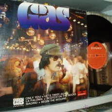 Discos de vinilo: MANOLO GAS & THE TINTO BAND BANG LP GAS FUNK LATIN DISCO ORCHESTRAL 70S SPAIN. Lote 42845379