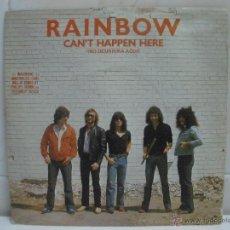 Discos de vinilo: RAINBOW CAN'T HAPPEN HERE POLYDOR 1981 ESPAÑA. Lote 42852202