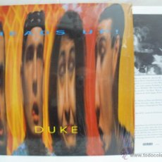 Discos de vinilo: HEADS UP DUKE 5 TRK WITH INNER 1991 ROADRUNNER FUNK ROCK METAL. Lote 42853136