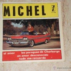 Discos de vinilo: MICHEL - LOS PARAGUAS DE CHERBURGO+3 / ZAFIRO 1964-. Lote 42854143