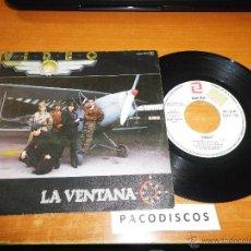 Discos de vinilo: VIDEO LA VENTANA / JUEGOS DE OTRO TIEMPO SINGLE DE VINILO PROMOCIONAL TINO CASAL AÑO 1984 2 TEMAS. Lote 42854625