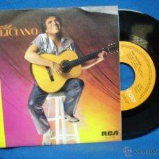 Discos de vinilo: - JOSE FELICIANO - ABRAZAME/ TEMA DE SUSANA - RCA 1984. Lote 42862940