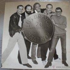 Discos de vinilo: LOS BRAVOS FOREVER 20 ANIVERSARIO. Lote 43171665