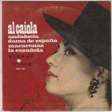 Discos de vinilo: AL CAIOLA, ANDALUCIA - SINGLE DEL SELLO TIME (VERGARA) DEL AÑO 1.965 . Lote 42868232