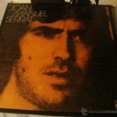 Discos de vinilo: DISCO LP ALBUM CARPETA JOAN MANUEL SERRAT. LOT25. Lote 42868284
